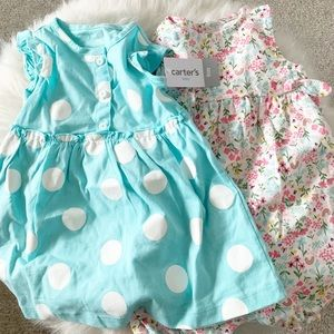Carter's Baby Girl 9 Month Outfit Set